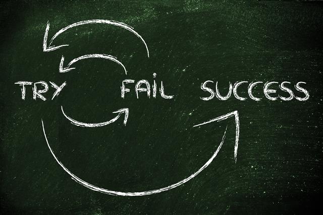 失敗から成功へ